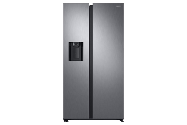 American Fridge Freezer Matte Stainless Steel
