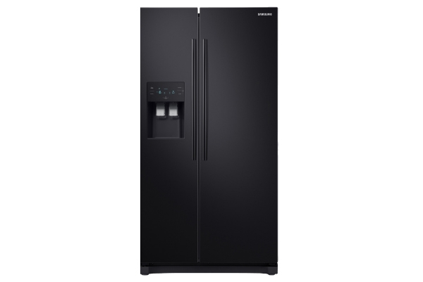 American Fridge Freezer Black 2 Door