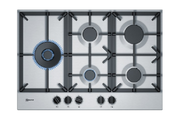 Gas Hob Stainless Steel T27DS79N0