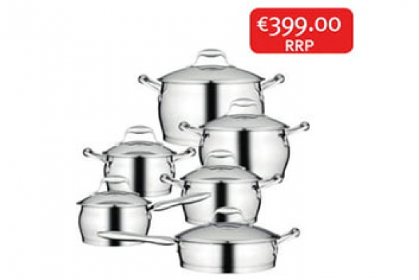 Zeno Pot Set 6 Pc