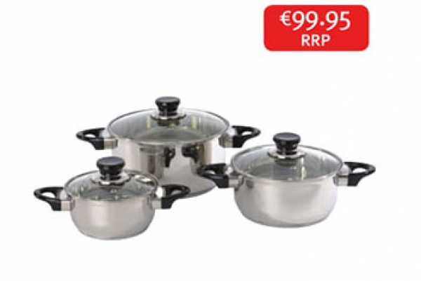 Prima Pot Set 3pc