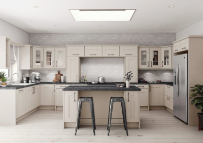 Cashmere Grey Fitted Kitchen Alderley The Panelling Centre